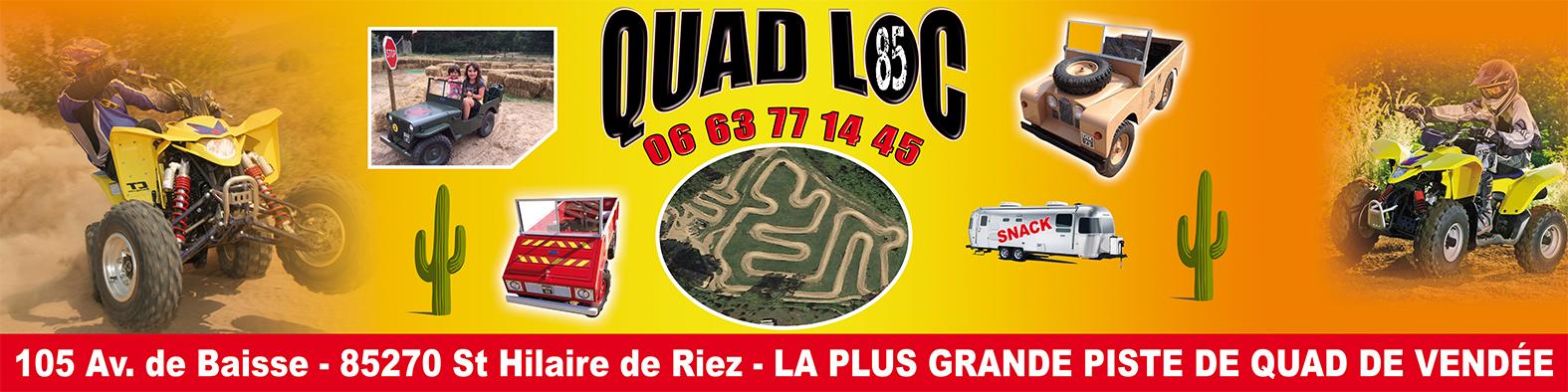 Banderole quadloc 400 x 100 cm 2